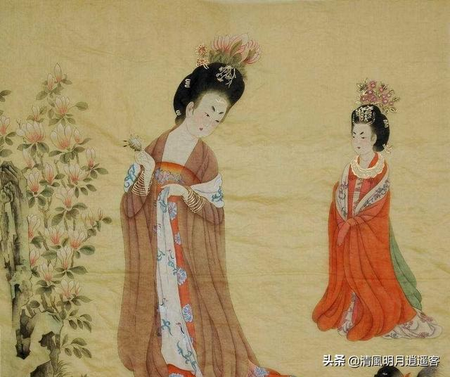 唐阎立本名画《步辇图》讲的是什么故事?