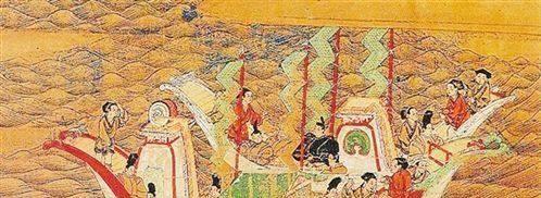日本向中国递交的首封正式国书,第一句就令隋炀帝大怒