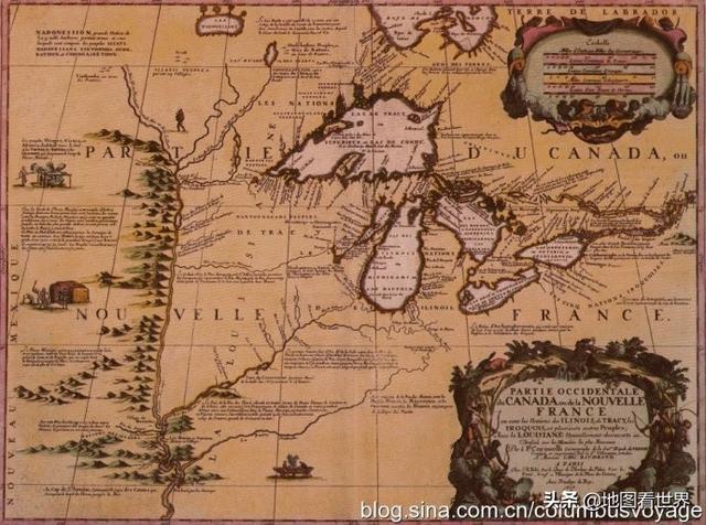 地理大发现第102篇:拉萨勒为法国声索路易斯安那,封地叫中国