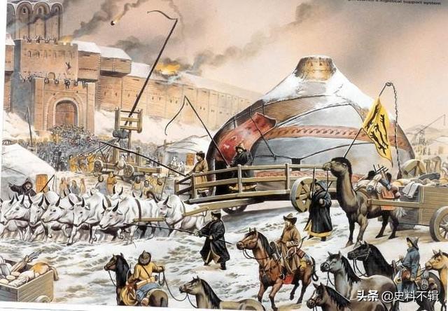 中亚穆斯林从何时开始效忠蒙古,元朝色目人是一个民族吗
